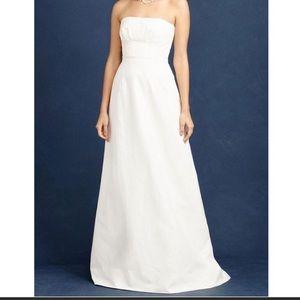 J. Crew Cotton Cady wedding dress size 10